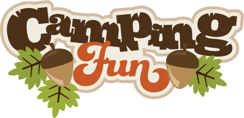 Campin Fun SVG Scrapbook Title Camping Svg Files Cut Free Svgs Cute