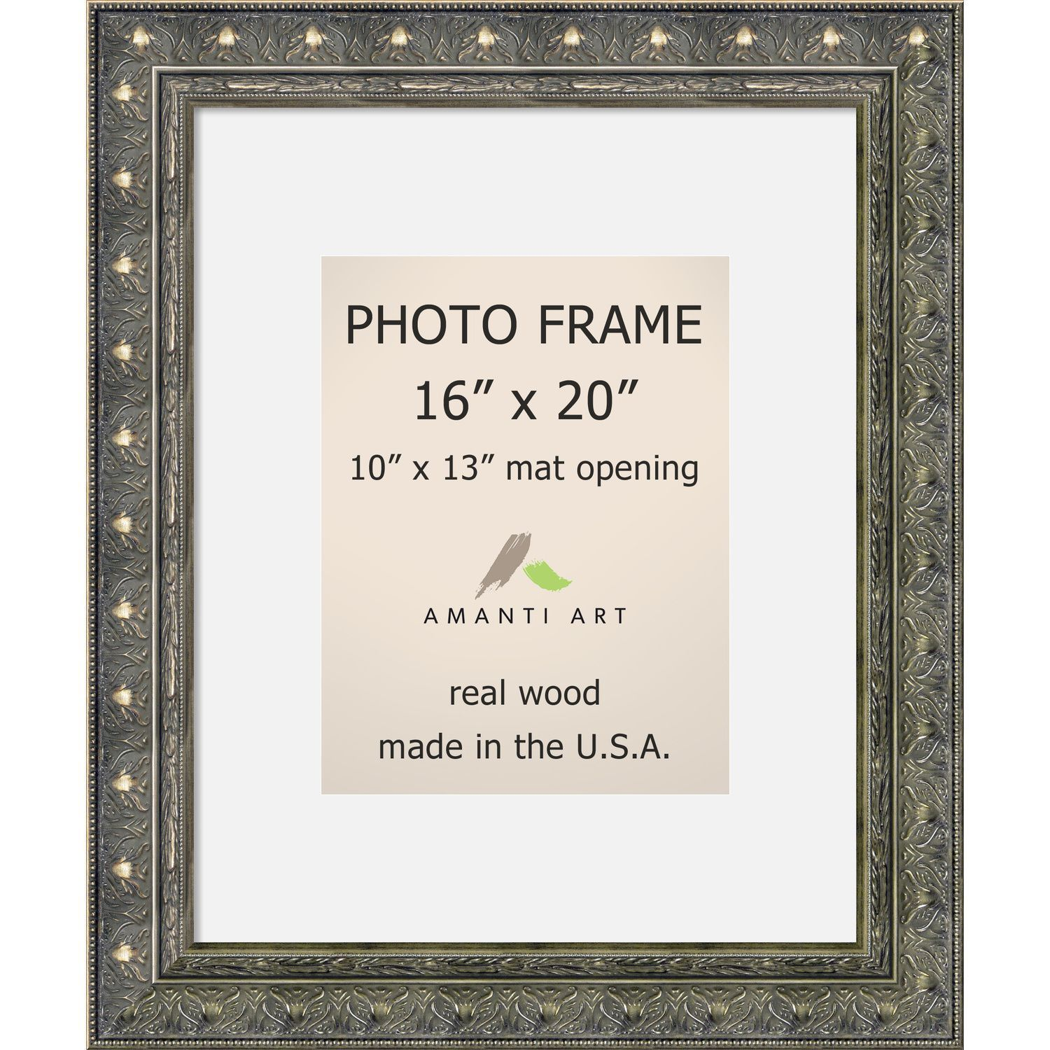 by mat oak wall bz oz ecohome matted barnwood natural tabletop frames picture for frame