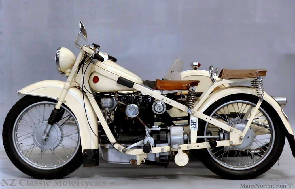 1938 Nimbus Bumble-Bee & Bender Sidecar The Nimbus four