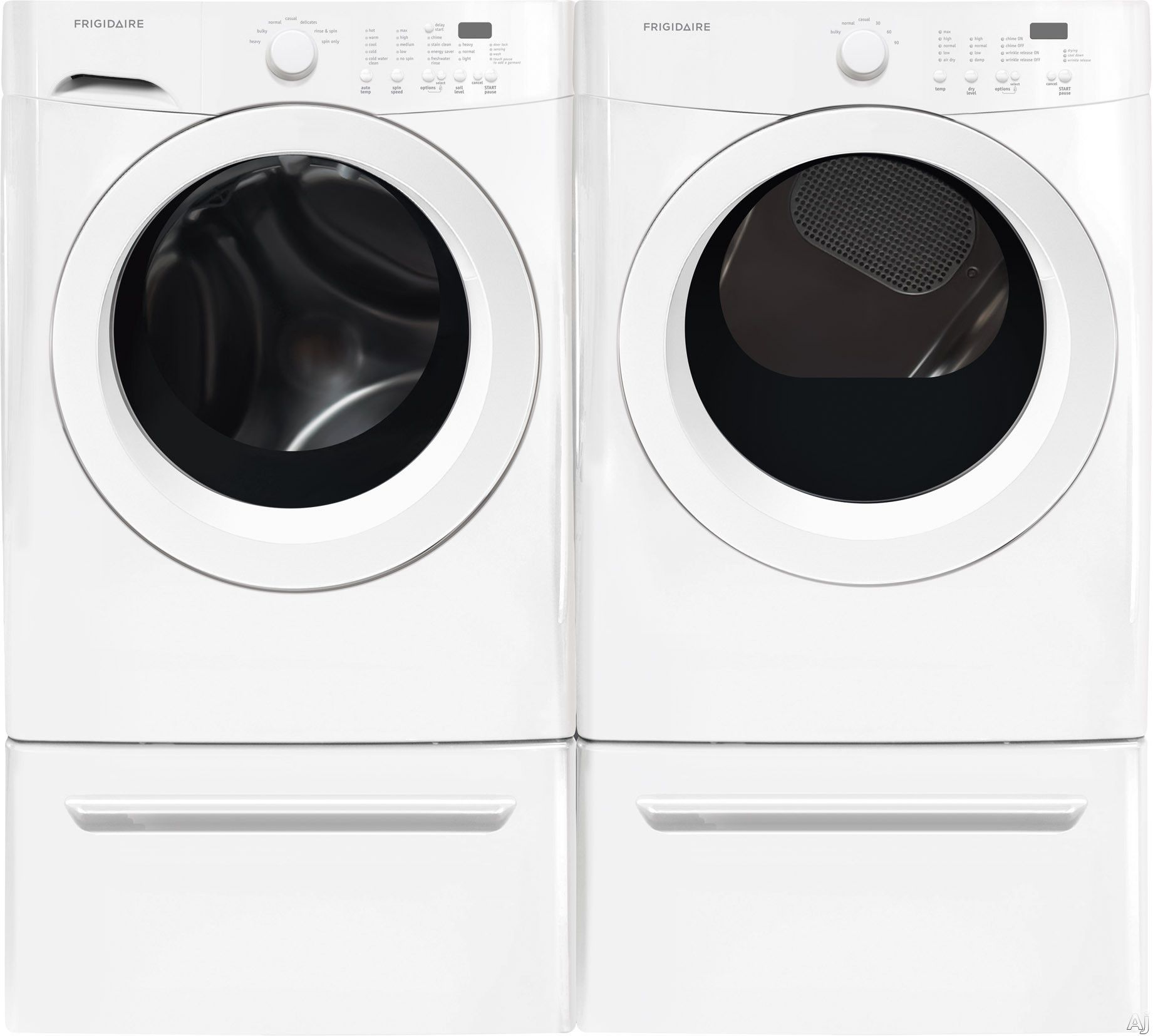 washers dryers front load ft cu pin blue pedestals sapphire washer electric samsung and dryer pedestal