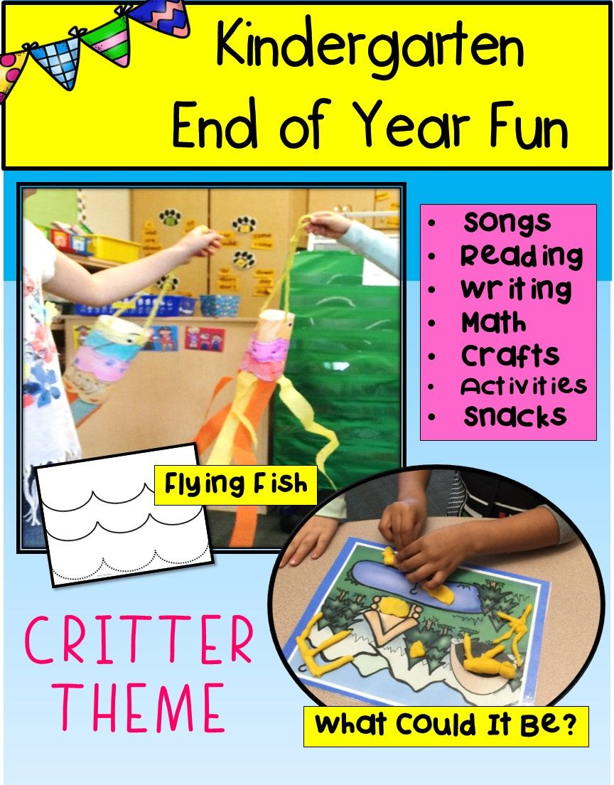 This week long critter camp  unit is full of fun AND learning!