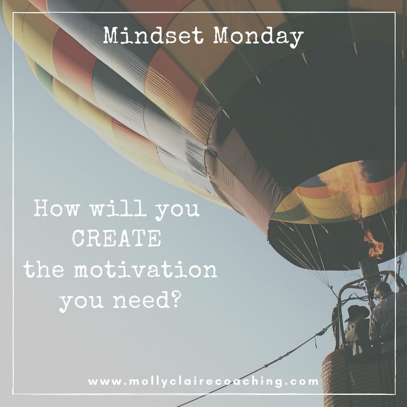 Creating Motivation instead of just having motivation. It's all about shifting your mindset.