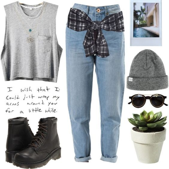5 ways to wear spring college outfits with blue jeans - Find more ideas at school-outfits.com #collegeoutfits
