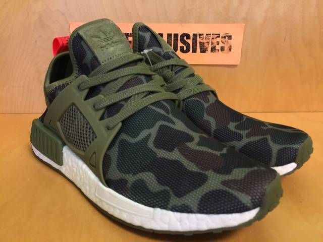 huge selection of 27dc3 a4e08 Adidas NMDXR1 Olive Green Duck Camo NMD XR1 Bape BA7232  Kixify  Marketplace
