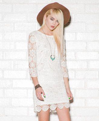 Macramé Dress