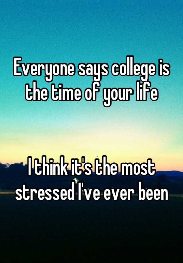 20 College Students Confess Their Secrets Funny College Life