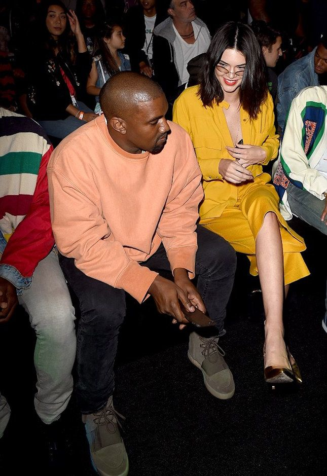 0a124d71e1ef Kanye West Wearing Yeezy Season 3 Sweatshirt