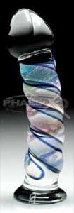Phallix Glass Dildos and Glass Sextoys 100% Hand Blown Functional Erotic Glass Art