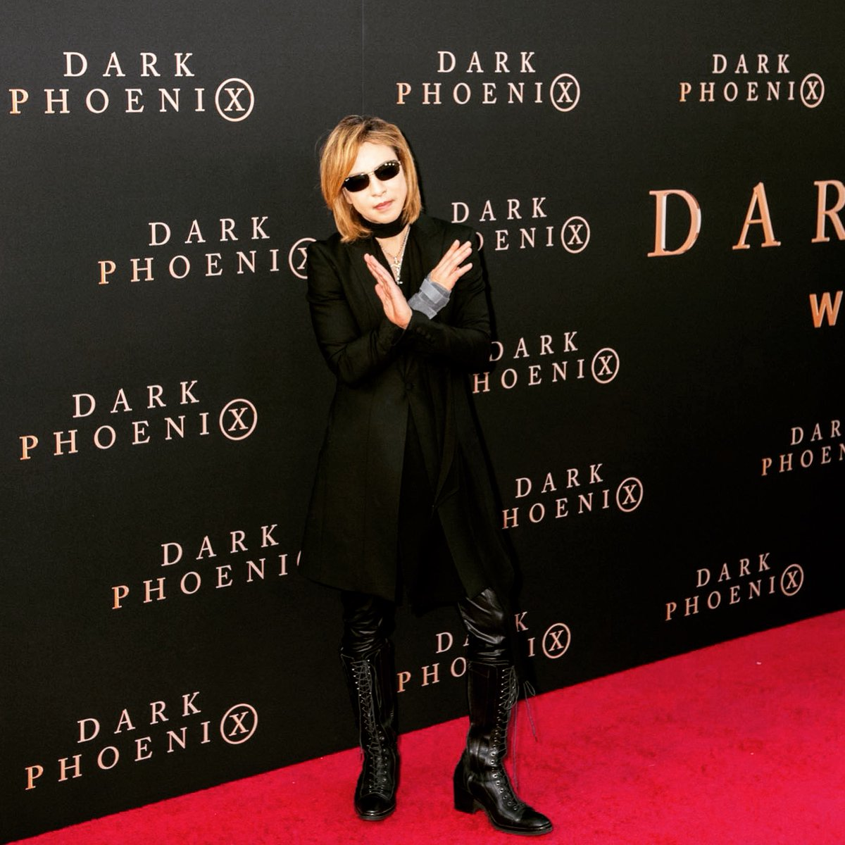 Yoshiki Yoshikiofficial Twitter Dark Phoenix In Hollywood Joker