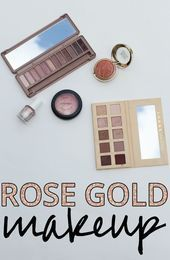 Rose Gold Makeup #goldmakeup Rose Gold Makeup 5 different products you must ge … – Simple eye makeup