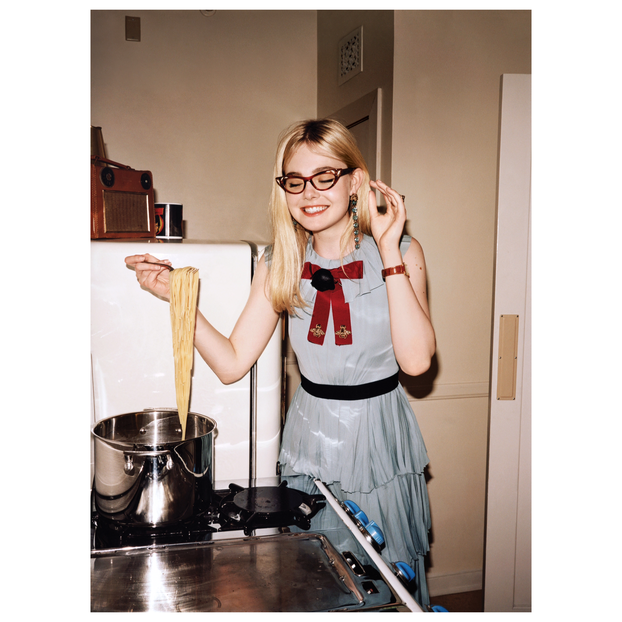Vogue Us Photographed Elle Fanning In Gucci Fall Winter