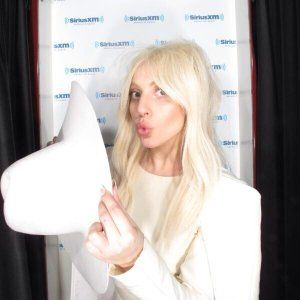 Workin hard for ARTPOP SiriusXm gal