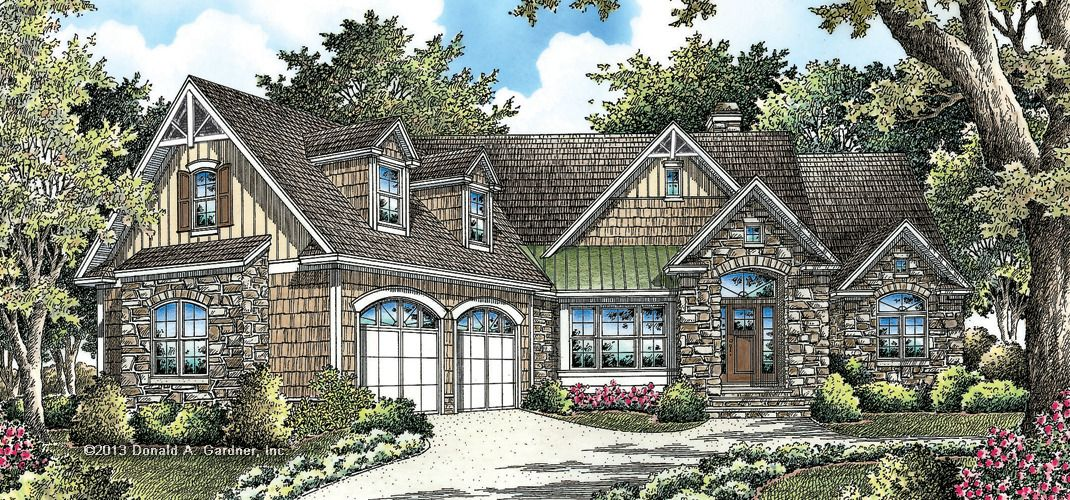 The Bantry House Plan By Donald A Gardner Architects Craftsman Style House Plans Craftsman House House Plans