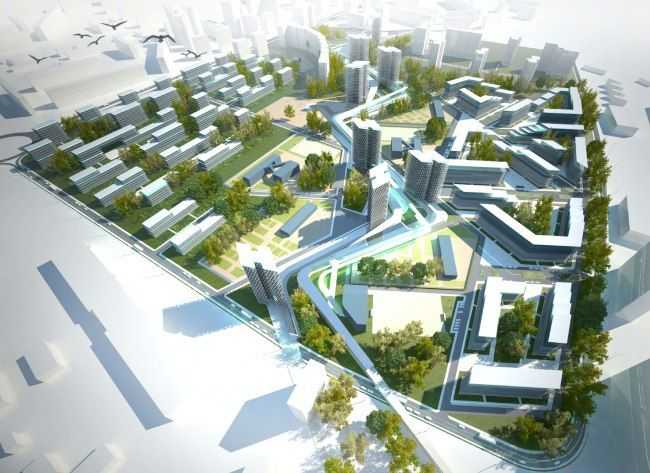 urban planning mixed use development International interdisciplinary planning and design firm providing consulting and design services in architecture, landscape architecture, planning, urban design, civil engineering, and interior design.