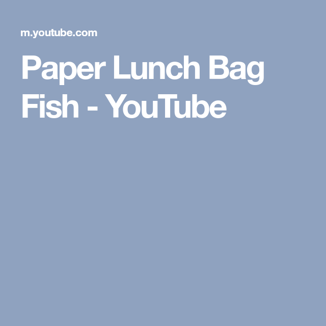 def47df697ea How to make fish from paper lunch bags. Paper Bag Craft for Kids. You can  find complete directions and a supply list for this craft on Danielle s  Place ...