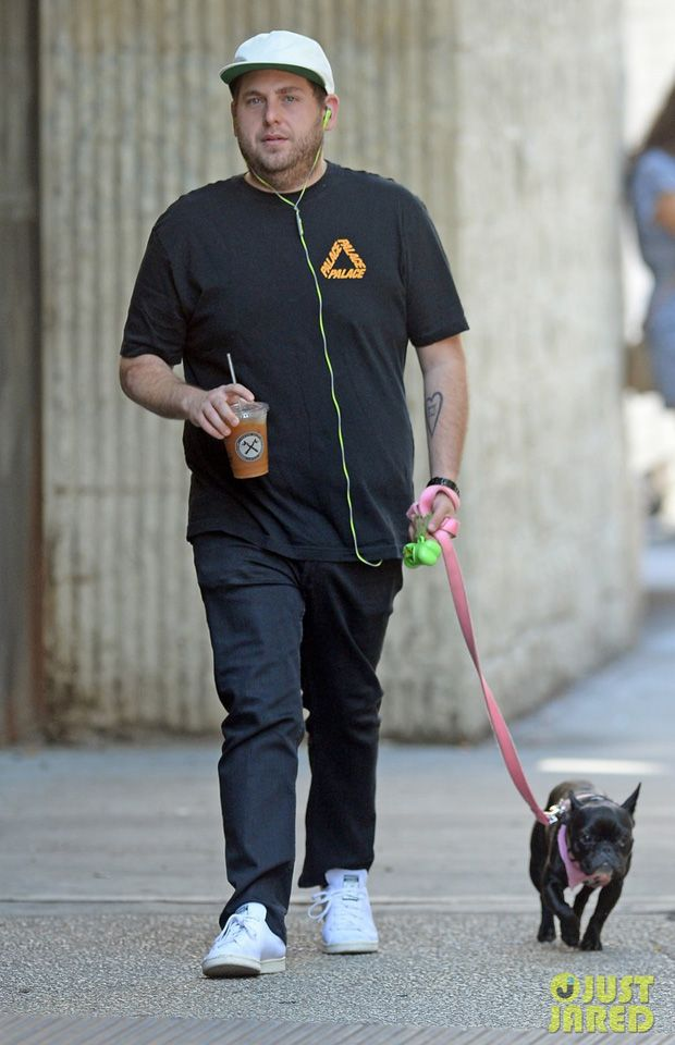 4ad5e2c238c Jonah Hill in the adidas Stan Smith PK