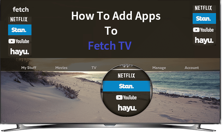 If You Don T Sure How To Add Apps To Fetch Tv Learn How To Use Fetch Tv Available Apps Like Netflix Stan Youtu Netflix App Amazon Prime App Netflix Tv Shows
