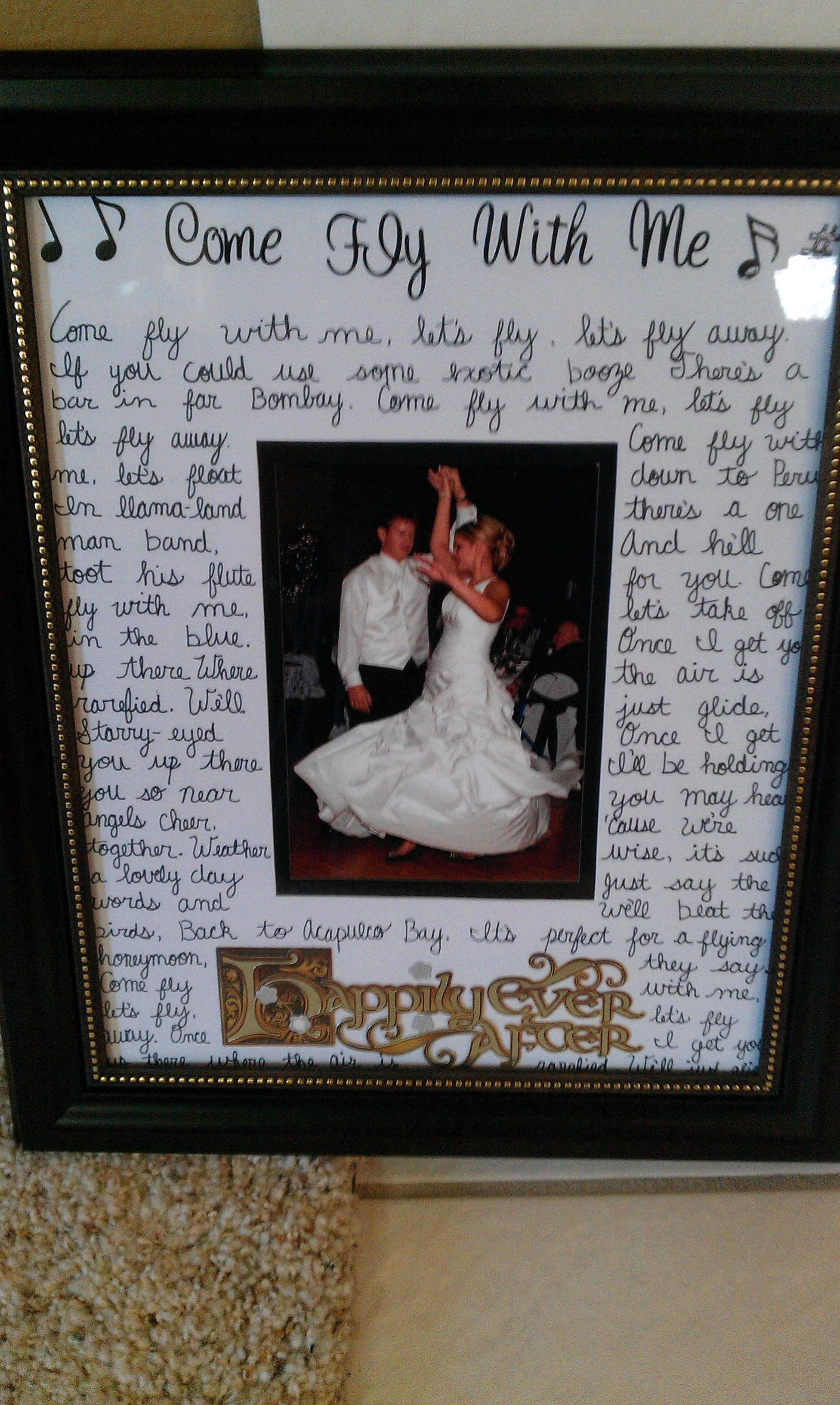 First dance frame with lyrics all you need is ame rst first dance frame with lyrics all you need is ame rst dance photo ng lyrics arpie oto mat frame pinteres jeuxipadfo Gallery