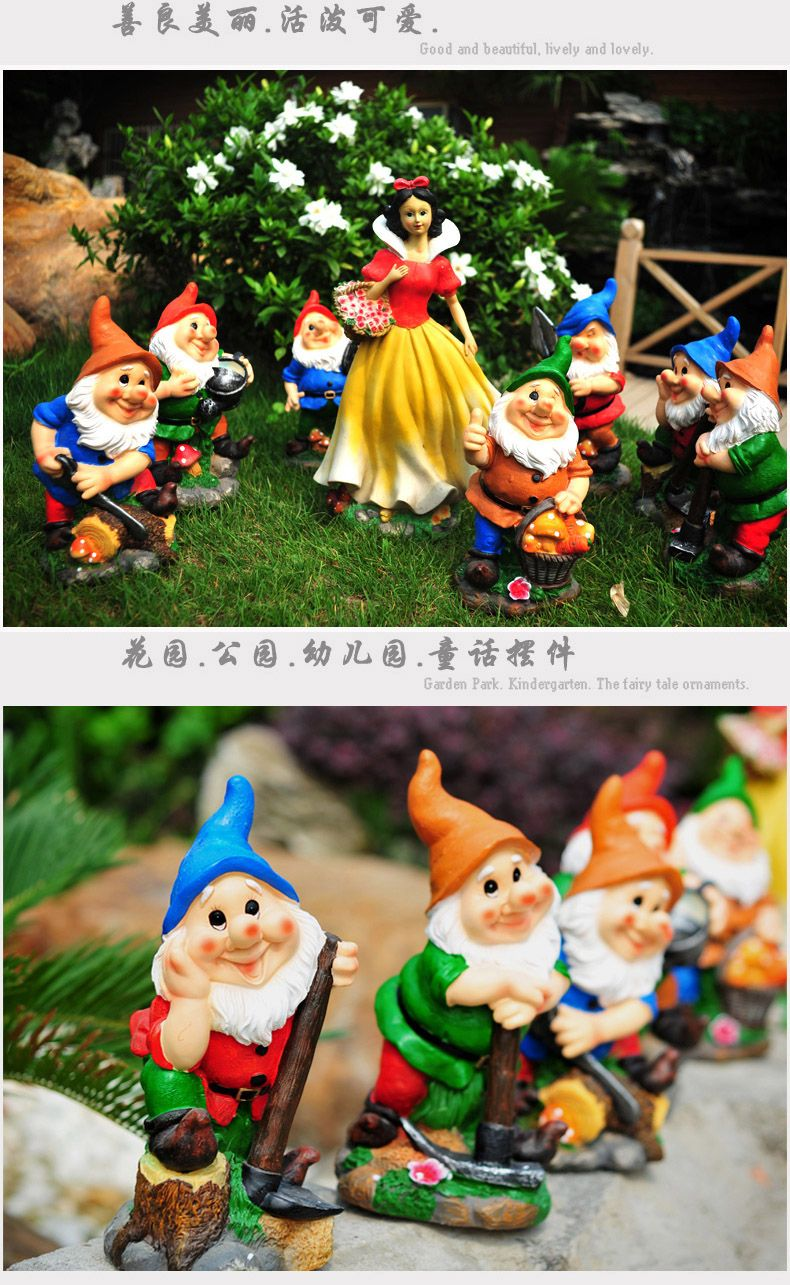 Garden decor crafts   for all wedding decoration crafts handmade A big snow white and
