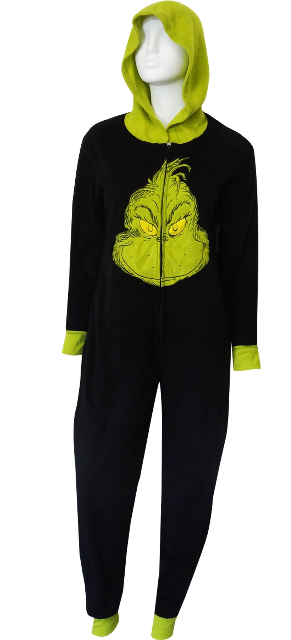 Webundies Com Dr Seuss Grinch Onesie Pajama Adult Footie