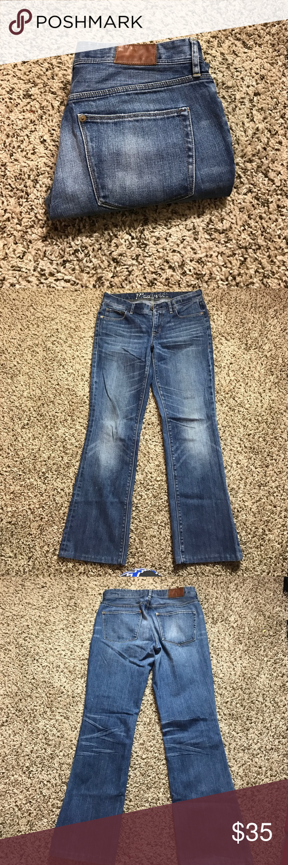 Madewell Bootcut jeans 👖 Size 29x32 Bootlegger Madewell Jeans Boot Cut