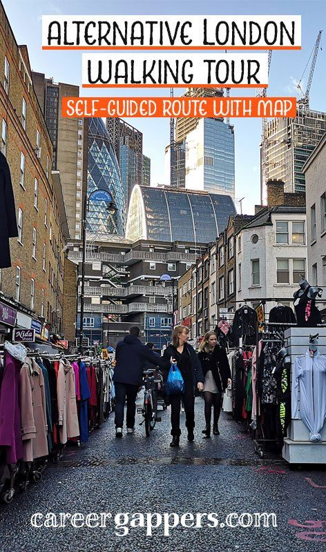 Alternative London walking tour: self-guided route with map   Walking tour. London. London tours