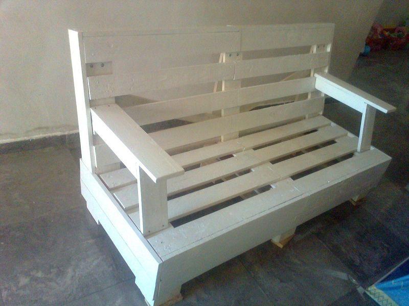 palets Los muebles de palets es una muestra clara del apoyo en