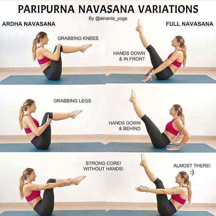Variations on Boat Pose | PARIPURNA NAVASANA Focus on ...