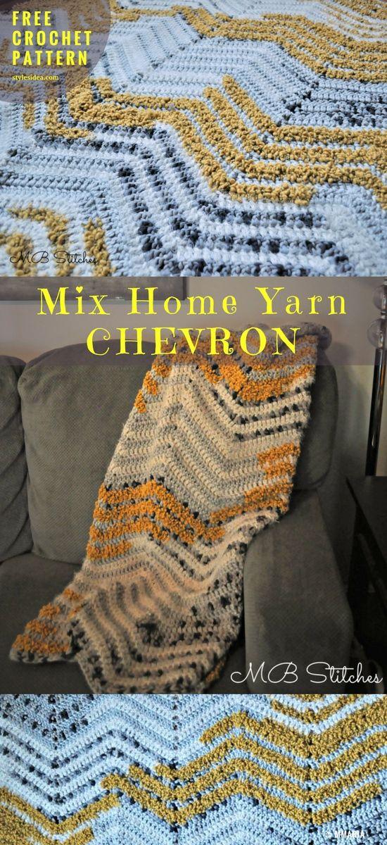 Two Chevron Winners One Free Crochet Pattern Pinterest Chevron