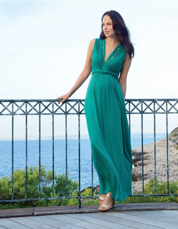 Maternity Maxi Dress Outfit
