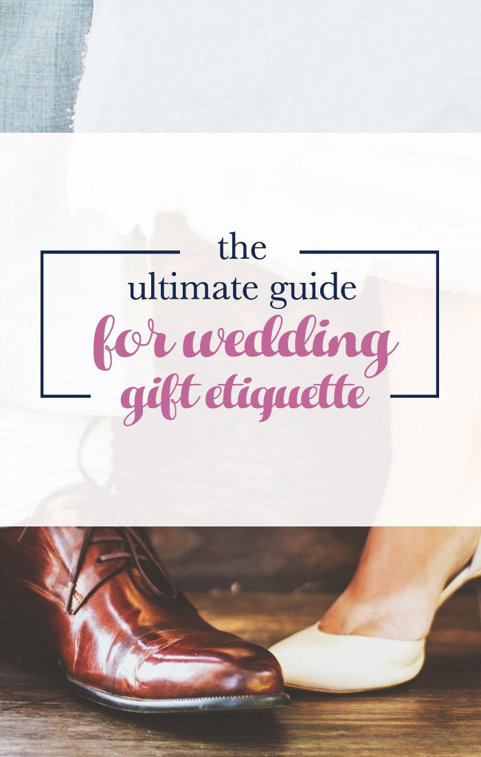 Wedding Gift Etiquette Rules For The Big Day Wedding Gift