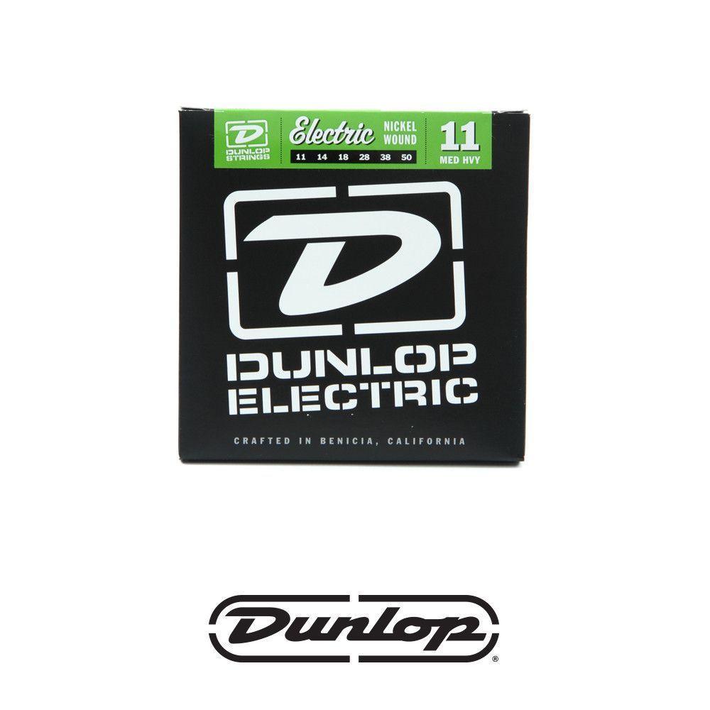 Dunlop Nickel Electric Guitar Strings - Medium Heavy