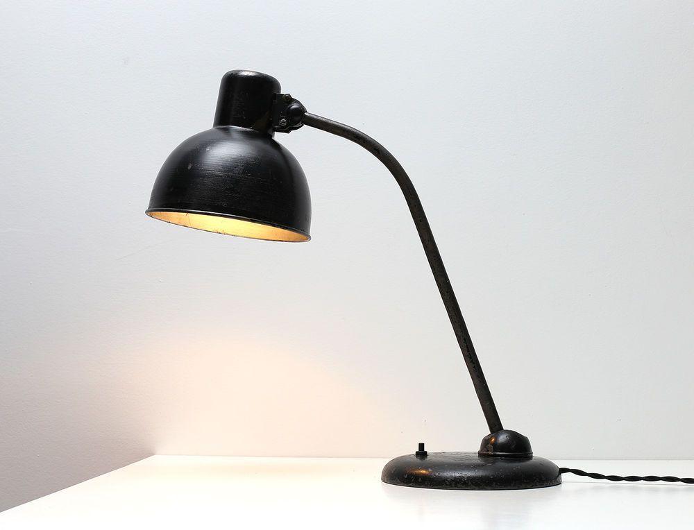 Bauhaus table lamp Kaiser Idell Christian Dell LOFT Factory