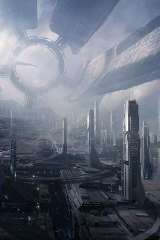 Future Futuristic City - Android Wallpaper