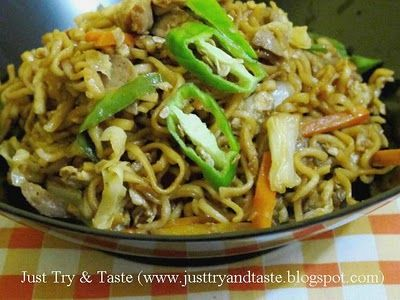 Resep Mie Goreng Jawa Resep Resep Masakan Asia Resep Masakan Indonesia