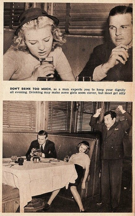 1950s dating rules for women