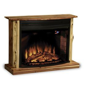 Topeka Innovative Concepts 37-in W 4770-BTU Cedar with ...