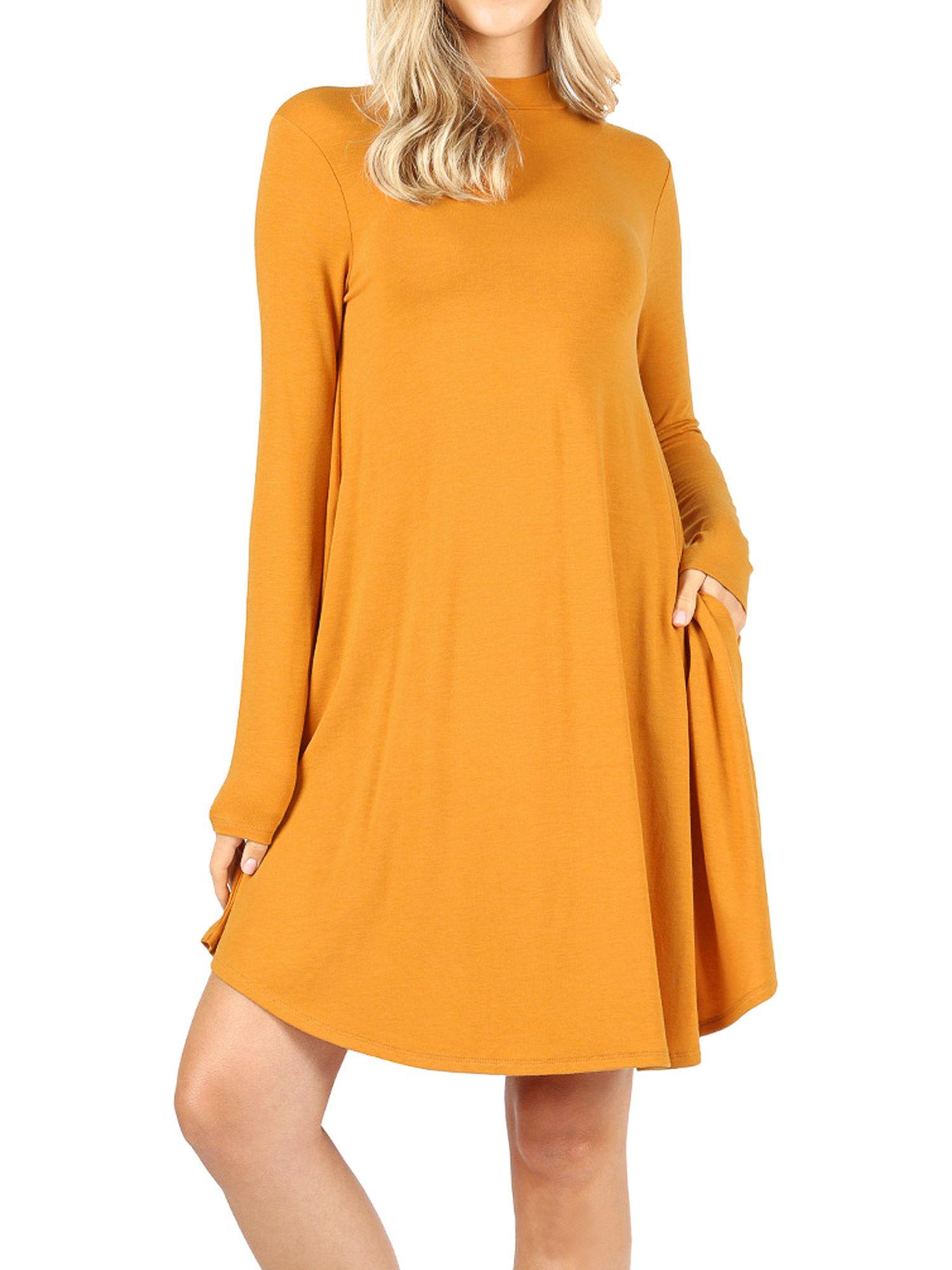22 Dresses With Pockets You Can Get At Walmart Shift Dress Bold Dresses Dresses [ 2000 x 1500 Pixel ]