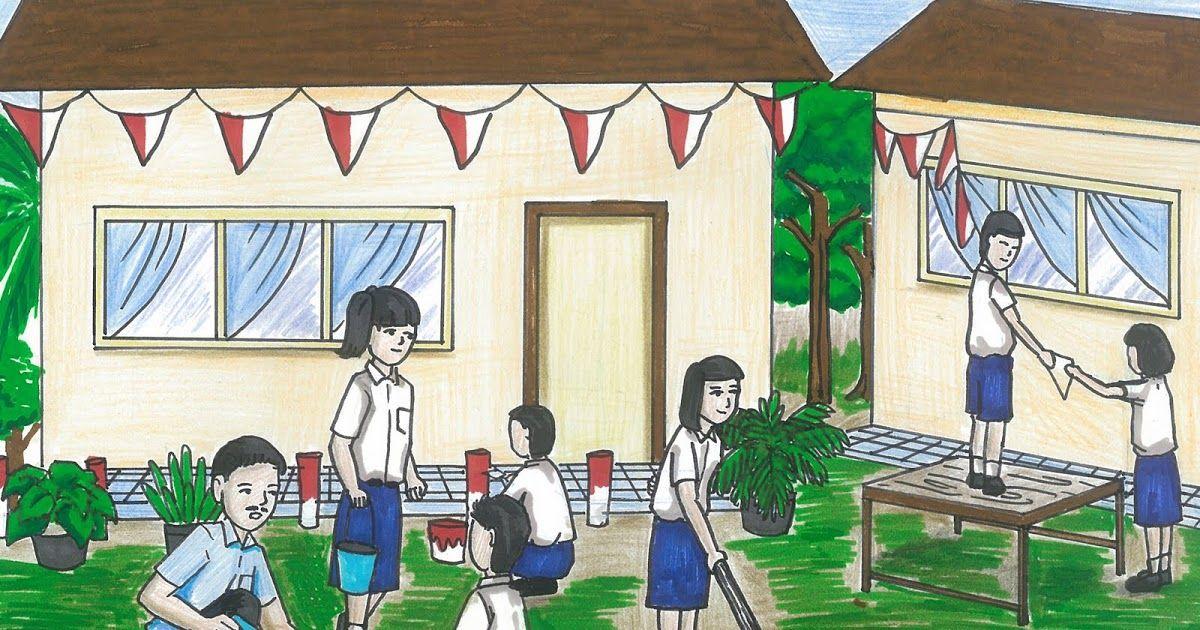 Gambar Kerja Bakti Di Lingkungan Sekolah Kartun 34 Gambar Kartun Kerja Bakti Di Lingkungan Sekolah Karikaturku Indonesia Media Pembelajaran Download Nutrifood Indonesia Download Di 2020 Kartun Gambar Tropis