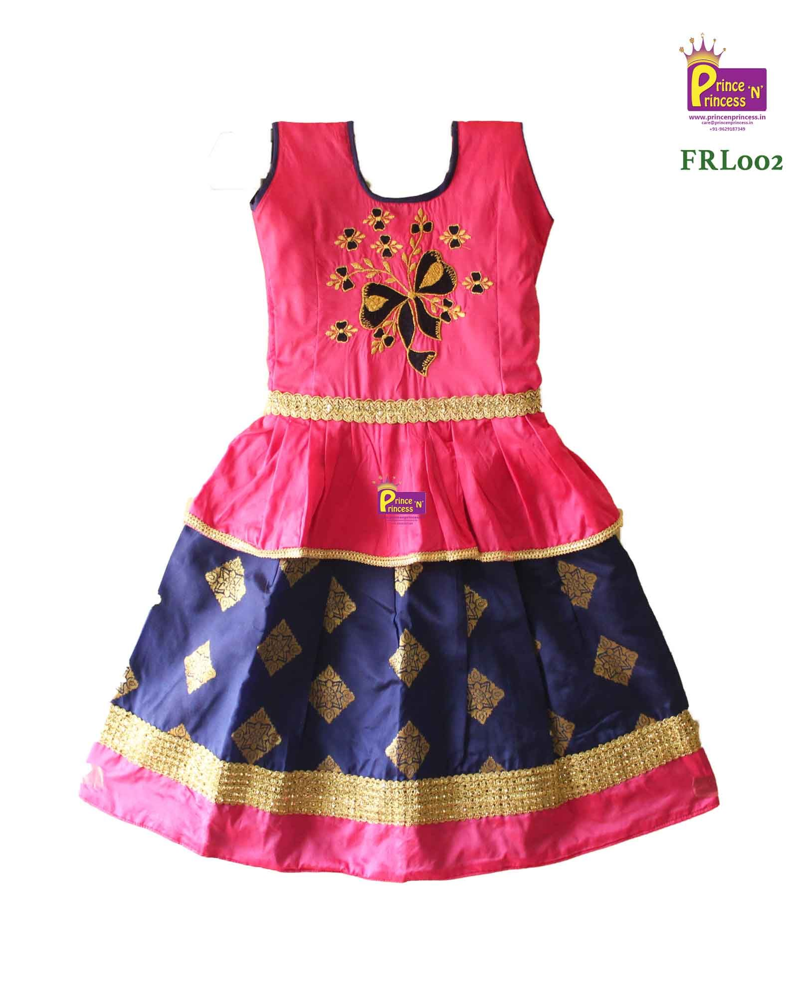 Designer Pattu Pavadai Grand Pavadai For Special Occasion Pattu Langa Kids Party Wear Fashion Party Wear