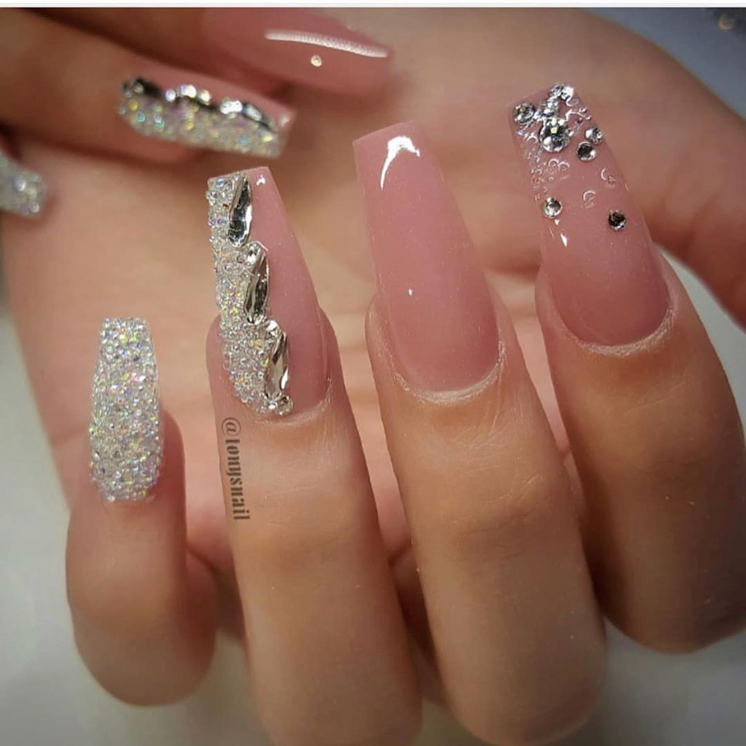Elysian New Jersey On Instagram Elysian360 Wow Gorgeous Nails Which One Is Your Favourite 1 Nail Designs Coffin Nails Designs Pretty Acrylic Nails
