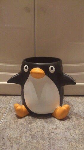 My Papelera - pingüino, #penguin