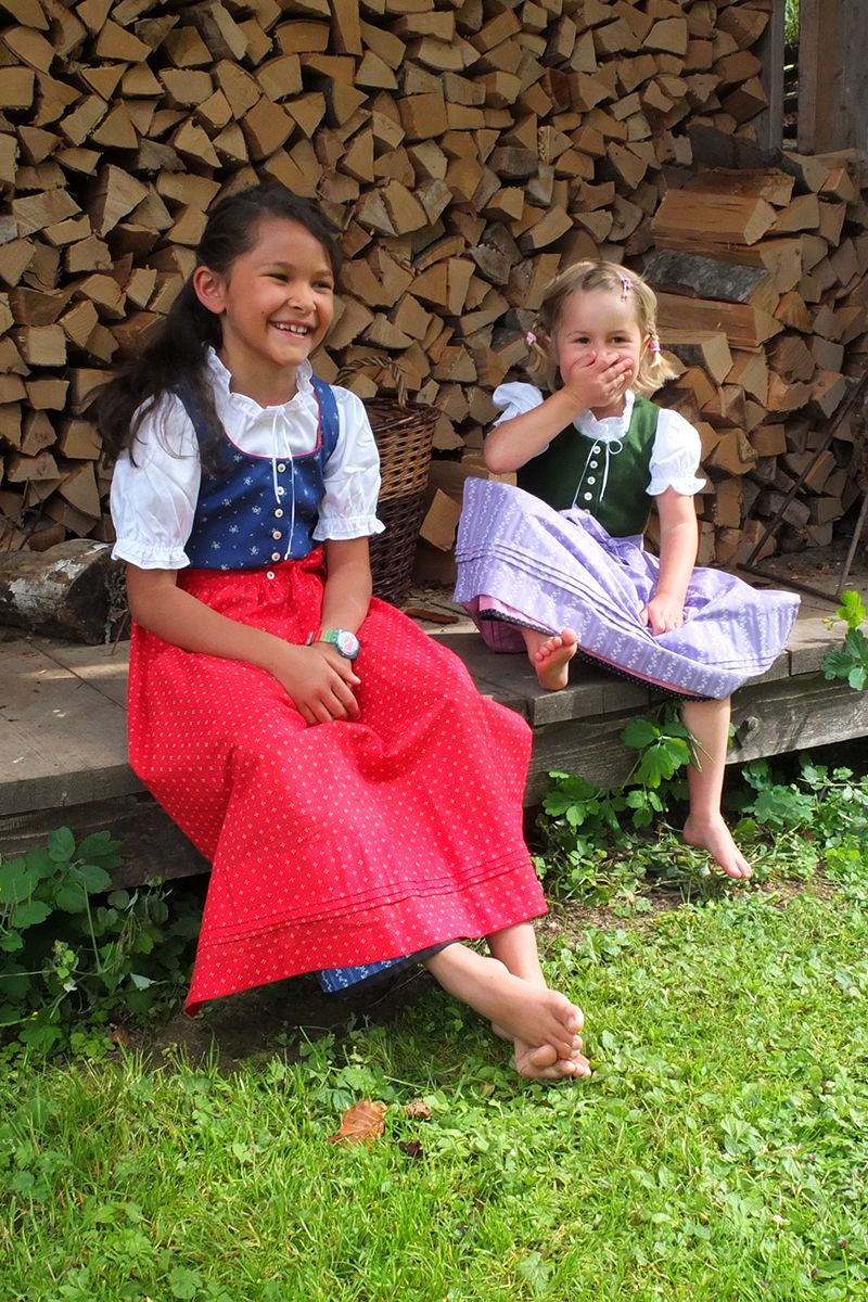 Kinder Ausseer Dirndl - Ssl Dac Outfits