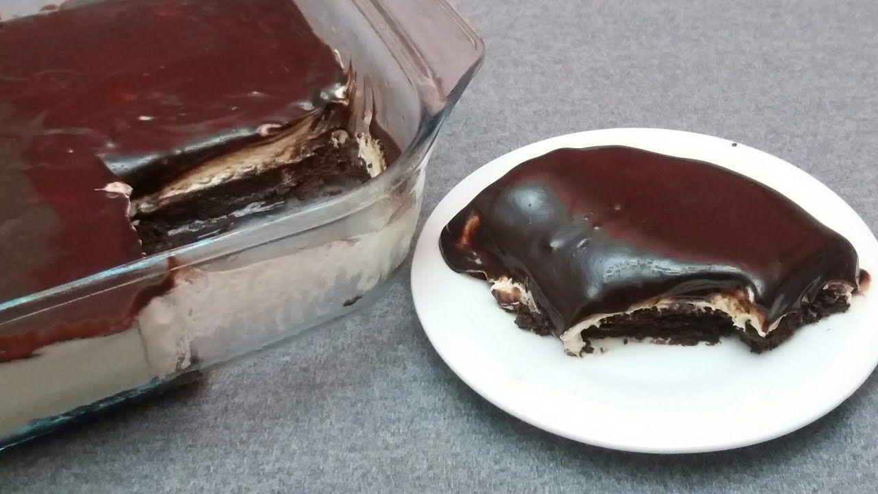 كيك أو تحلية باردة سريعة بدون فرن في 5 دقائق Youtube Dessert Cake Recipes Baked Desserts Cakes Food