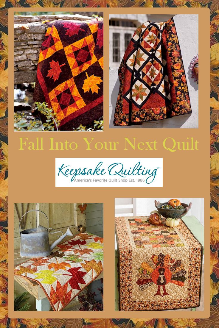Make your next fall quilt a beauty with cozy quilt fabrics for ... : fall quilt fabric - Adamdwight.com