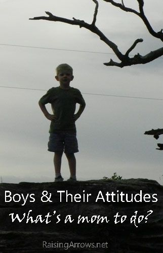 Boys and Attitudes | RaisingArrows.net, Great blog post on understanding and letting our sons grow up. Tough stuff but necessary. #mom, #son