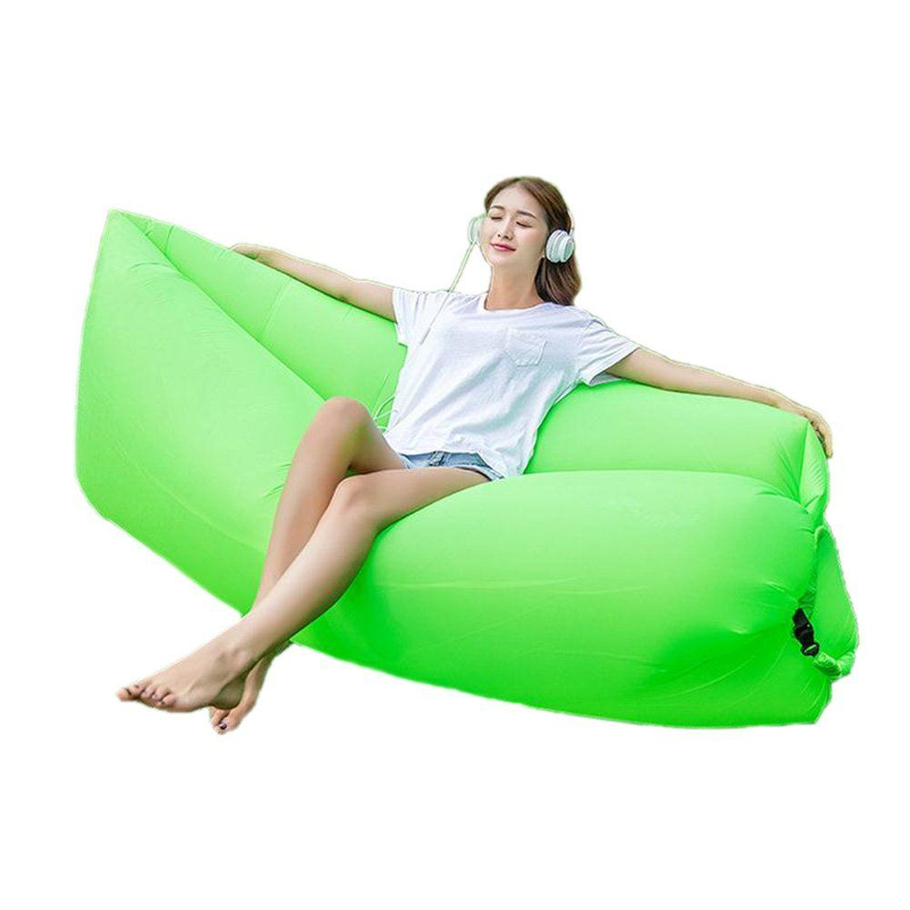 Hhobake Air Sofa Inflatable Lounger Lazy Sofa Air Bag Indoor Outdoor Sleeping Bed Second Generation New Design Easi Inflatable Lounger Outdoor Gear Air Lounge