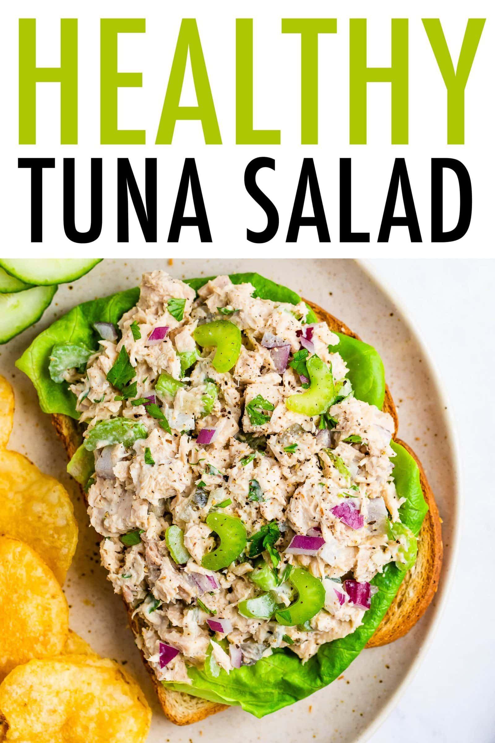 Tuna Salad Recipe Easy Healthy