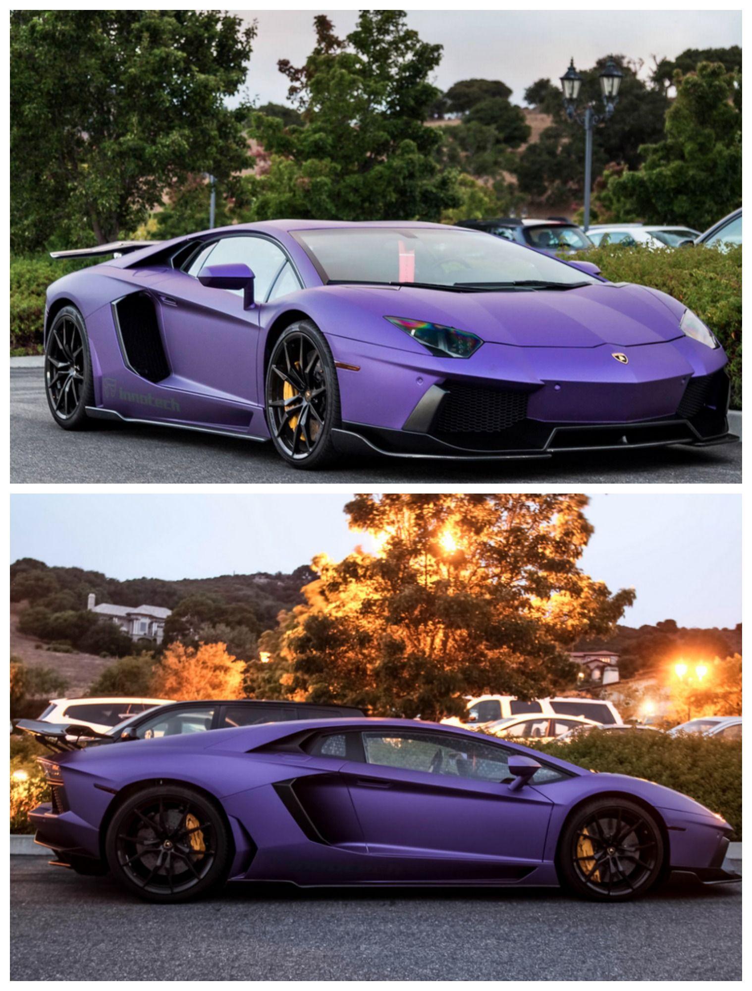Purple Lamborghini Car : purple, lamborghini, Lamborghini, Aventador, Dream, Cars,, Aventador,