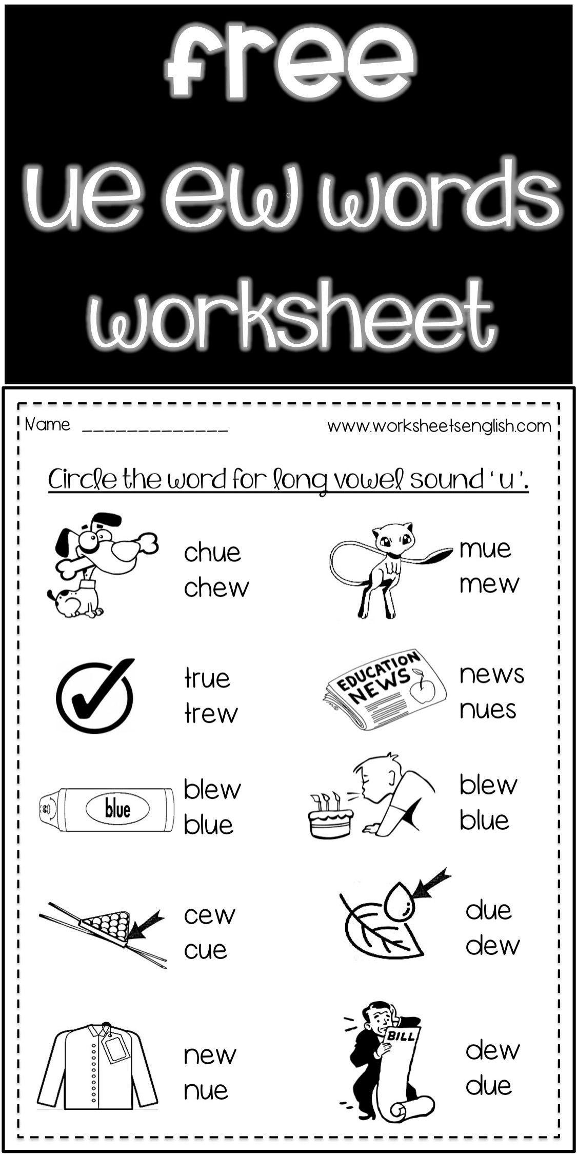 Long Vowel Words Spell Worksheets Free Www Worksheetsenglish Com Phonics Worksheets Free Phonics Worksheets Phonics Words [ 2249 x 1125 Pixel ]